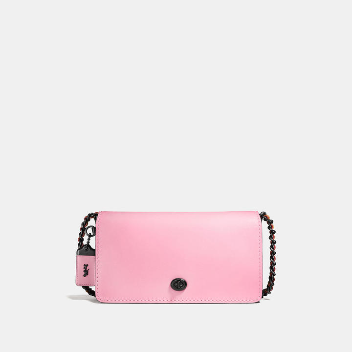 Coach  COACH Coach Dinky In Colorblock Glovetanned Leather