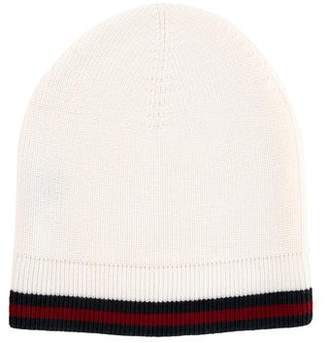 Pre-Owned at TheRealReal · Gucci Wool Web Beanie d2f1a636e0fc