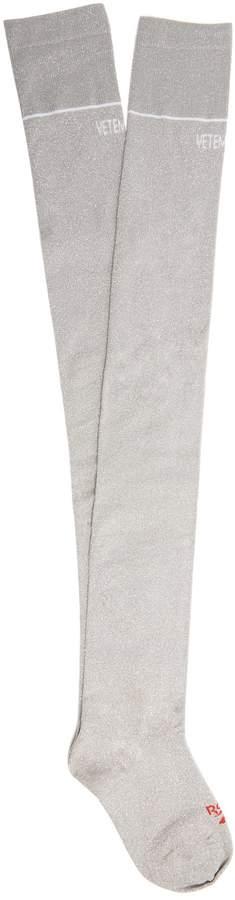 VETEMENTS X Reebok Cuissardes socks
