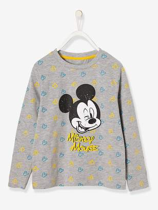 Vertbaudet Boys' Printed Mickey Top