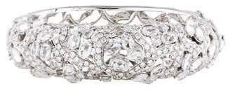 18K Diamond & Sapphire Bangle