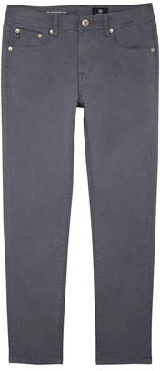 AG Jeans Boys' Stryker Luxe Slim Straight Sueded Twill Pants, Size 8-14