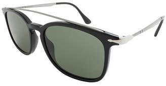 Asstd National Brand Persol Sunglasses Po3173S / Frame: Black Lens: Grey (54)