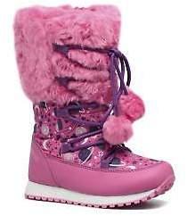 Agatha Ruiz De La Prada Kids's Après-Ski Agatha 2 Zip-up Boots in Pink