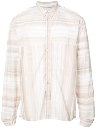 Stephan Schneider striped shirt