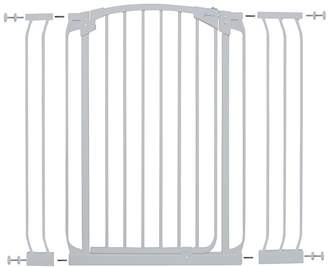 Dream Baby Dreambaby Extra Tall Swing Closed Security Gate with Extensions (1 x 9cm, 1 x 18cm), White