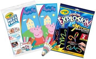 Crayola Colour Explosion & Peppa Pig Bundle