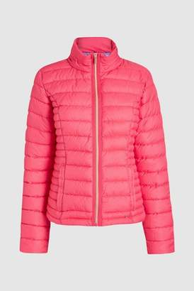 Next Womens Bright Pink Short Wadded Packaway Jacket