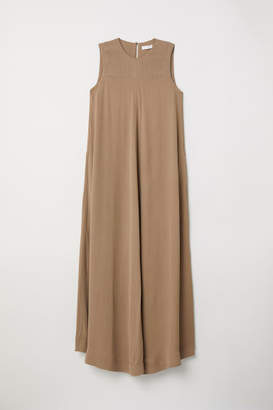 H&M Maxi Dress with Pockets - Beige