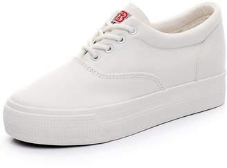 Renben Girls Women Low Wedge Heel Canvas Sneakers Comfort Platform Espadrilles 3616
