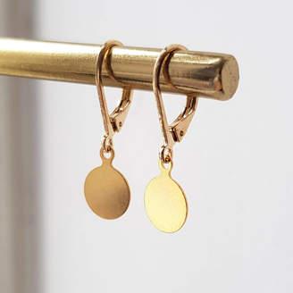 At Notonthehighstreet Misskukie Delicate Gold Drop Earrings