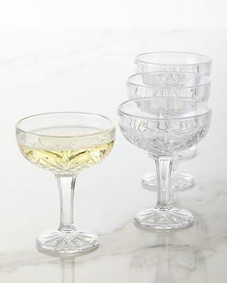 Godinger Dublin Coupe Glasses, Set of 4