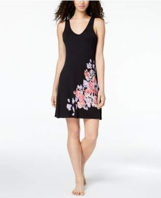 Alfani Placement Floral-Graphic Chemise, Created for Macy's