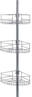 Mainstays Tension Pole Shower Caddy, Chrome