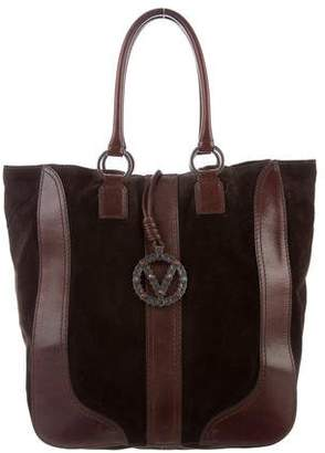 Valentino Suede Tote Bag