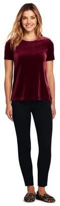 Lands' End Red Plus Velvet T-Shirt