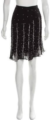 Elie Saab Embellished Mini Skirt