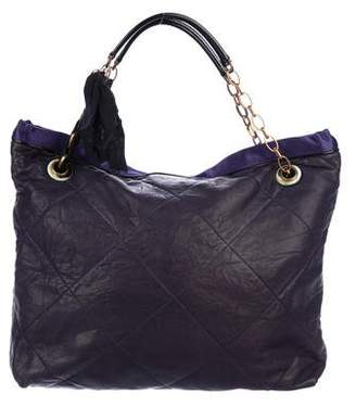Lanvin Quilted Leather Bag