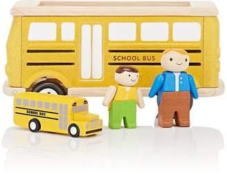 Plan Toys WOODEN SCHOOL BUS