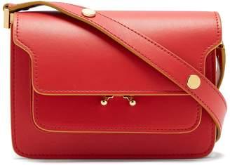 Marni Trunk mini leather cross-body bag