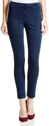 Lysse Stretch Denim Zip Leggings