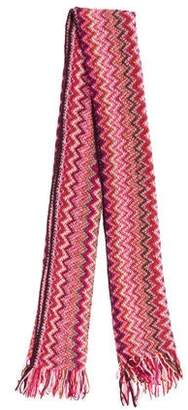 Missoni Open Knit Patterned Scarf
