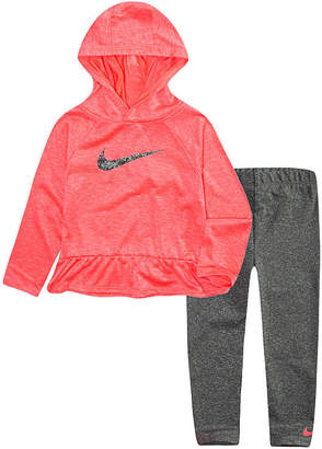 Nike 7.25 F18 Toddler Girl 2-pc. Legging Set-Toddler Girls