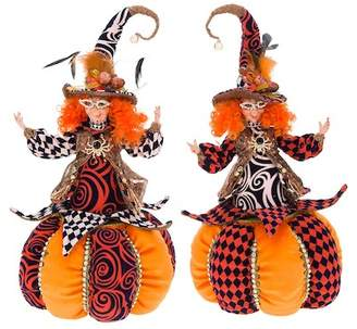 Mark Roberts Trick or Treat Cookie Jar - Set of 2