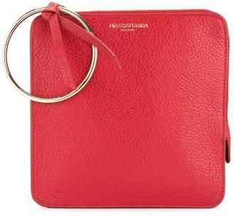 Sara Battaglia PF0369F18 AMARANTO Furs & Skins->Calf Leather