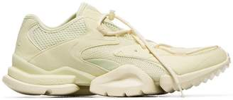 Reebok Run 96 multi-texture lace-up sneakers