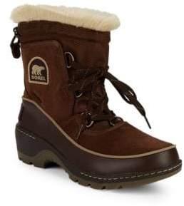 Sorel Tivoli III Faux Fur & Suede Snow Boots