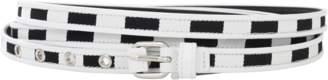 Givenchy Triple Wrap Striped Belt