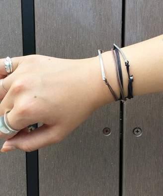 AP STUDIO (エーピー ストゥディオ) - Ap Studio ◇dafne Paris Plate Leather Bracelet