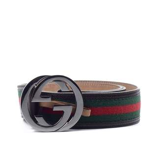 d02130a30 Gucci Interlocking Buckle Other Leather Belts