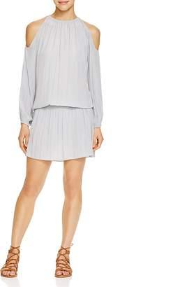 Ramy Brook Lauren Cold Shoulder Dress $395 thestylecure.com
