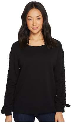 Sanctuary Camden Ruched Sweatshirt Women's Sweatshirt