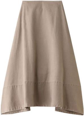 MADISONBLUE (マディソンブルー) - マディソンブルー ミモレフレアバックサテンスカート