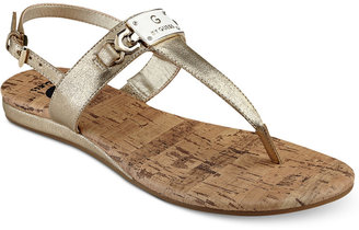 G by Guess Jemma T-strap Sandals Women's Shoes $29 thestylecure.com
