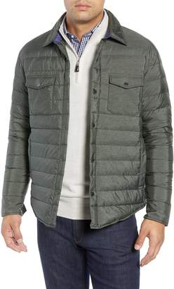 Peter Millar Crown Elite Light Down Shirt Jacket