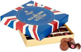 Charbonnel et Walker Union Jack Milk and Dark Chocolate Selection Box (315g)