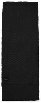 Canada Goose Basket Weave Merino Wool Scarf