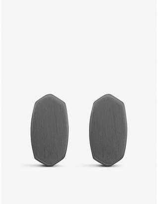Kendra Scott Barrett rhodium-plated studs