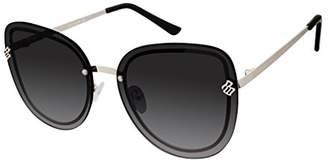 Rocawear Women's R677 Gld Cateye Sunglasses