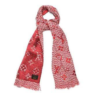 Louis Vuitton Pink Wool Scarves