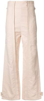 Chloé workwear trousers