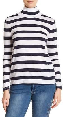 Philosophy Apparel Turtleneck Striped Sweater