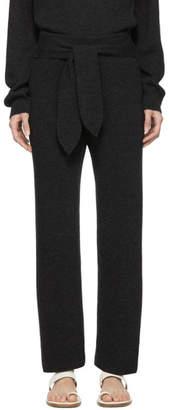 Nanushka Grey Cashmere Tigre Lounge Pants