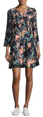 French Connection Delphine Floral Shift Dress