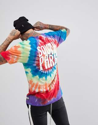 HUF X South Park Tie Dye T-Shirt With Back Print