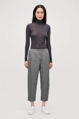 Cos TWISTED-SEAM WOOL TROUSERS